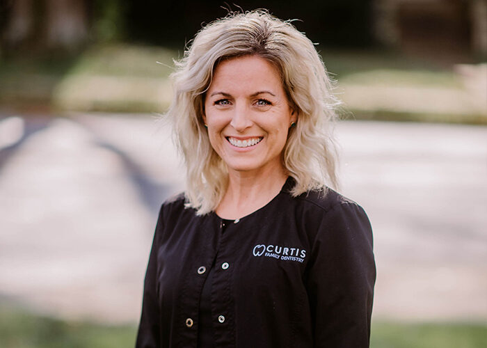 Kristen - office manager at Curtis Family Dentistry